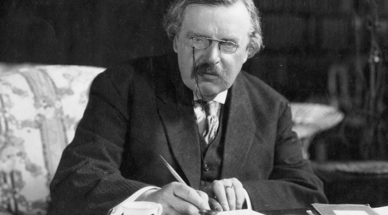 gilbert k chesterton 2 800x445 - Gilbert K. Chesterton Biography - life Story, Career, Awards, Age, Height