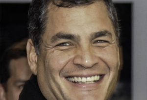 rafael correa 1 300x205 - Rafael Correa Biography - life Story, Career, Awards, Age, Height